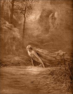Lethe - Goddess of oblivion; She is the personification of forgetfulness and concealment.