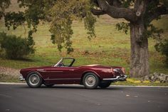 This 1959 Maserati 3500 GT Spyder Prototype by Vignale has an estimated price of $1,500,000 to $2,000,000