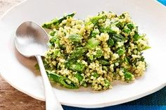 Naomi Pomeroy's Quinoa With Sweet Peas and Sour Cream Dressing | Slow Food Fast