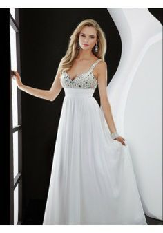 A-line V-neckSleeveless Floor-length Chiffon Evening Dress #USAZT910 - See more at: http://www.beckydress.com/prom-dresses/2014-prom-season.html?p=10#sthash.PHH0Zyx4.dpuf