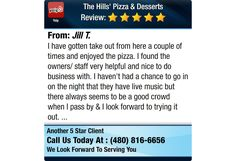 I have gotten take out from here a couple of times and enjoyed the pizza. I found the...
