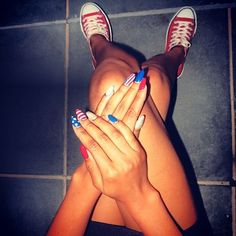 14 Celeb-Inspired Fourth of July Mani Ideas