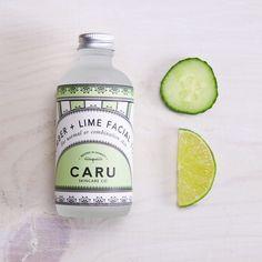 Cucumber & Lime Facial Toner | Caru Skincare Co. | Kan Kan Mercantile | www.shopkankan.com