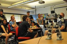 UTS Engineering and IT's 'Make a Real Robot' Summer School