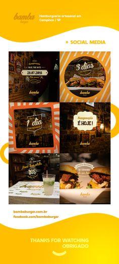 Bamba Burgers - Social Media on Behance