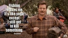 Logic of Ron Swanson. This man speaks the truth!!