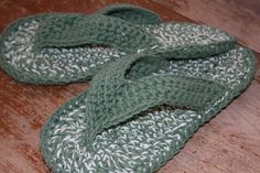 crochet flip flop slippers ....http://www.ravelry.com/patterns/library/flip-flops-sizes-child-adult-3-10