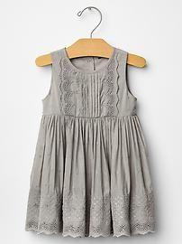 Eyelet party dress
