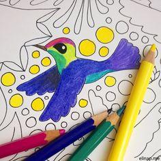 Valmennuksellinen värityskuva aikuisille! | Tarinatädin värityskuvat