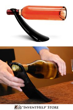 Cheers! Preserve your best bottle of wine with the Wine Horn. Available at inventhelpstore.com.