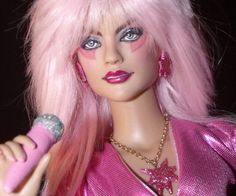 Exclusive OOAK Tonner Jem and the Holograms Art Collector Doll Repaint NR! Jem And The Holograms, New Movies Out, Jem Et Les Hologrammes, Jem Doll, All I Ever Wanted, Cosplay, Doll Repaint, Barbie World, Beauty