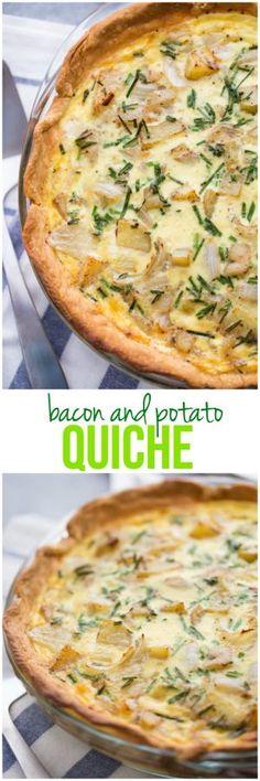 Bacon and Potato Quiche