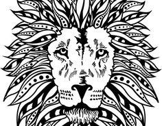 "Check out new work on my @Behance portfolio: ""diseño de tatuaje leon""…"