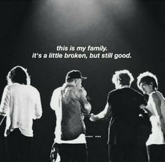 crying. Are we still good? Are we really? Or is it just a lie that we tell ourselves because don't ever want this to end? Zayn's gone. People are fighting. The boys are distancing themselves. We don't have much time left. And I don't know... but I certainly don't FEEL good...