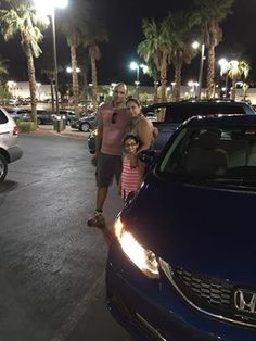Congratulations Wael and Neveen on you new 2015 Honda Civic from Mike and the Findlay Honda Henderson Family!