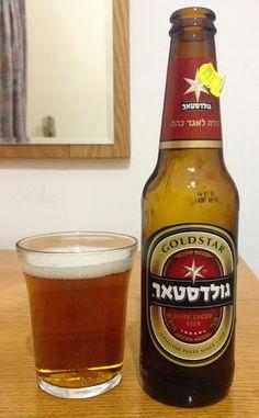Gold Star Dark Lager, Tempo Beer Industries, Netanya Israel - bought in Jerusalem, Israel Travel Around The World, Around The Worlds, Popular Beers, Beer Industry, Gold Stars, Beer Bottle, Brewing, Alcoholic Drinks, Jerusalem Israel