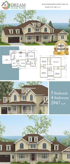 New house plans one story open simple southern living 21 ideas Simple House Plans, Southern House Plans, Southern Homes, Southern Living, House Plans One Story, Best House Plans, Dream House Plans, Custom Home Plans, Custom Homes