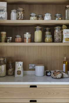 Make mornings easier with a gorgeous bespoke larder crafted for your family. Make mornings easier with a gorgeous bespoke larder crafted for your family. Luxury Interior, Luxury Furniture, Interior Styling, Interior Architecture, Interior Design, Bespoke Kitchens, Luxury Kitchens, English Kitchens, Handmade Kitchens