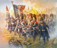 Guard Grenadiers at Plancenoit. Waterloo 1815, by Daniel Horsechief