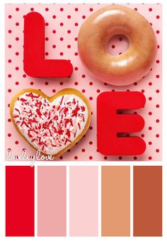 COLOR PALETTE ~ BAKED WITH LOVE SHADES ~~*~~