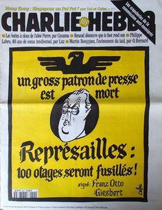 Charlie Hebdo - # 201 - 24 Avril 1996 - Couverture : Cabu