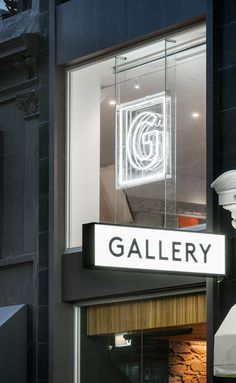 Gallery Bar Adelaide signage designed by Band.