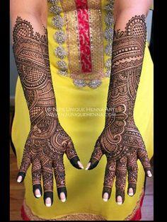 Stunning mehndi designs - 4