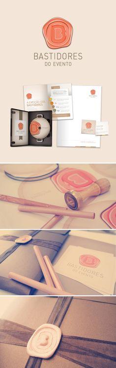 Unique Branding Design, Bastidores do Evento #branding #design (http://www.pinterest.com/aldenchong/)