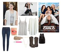 """""""Monte Carlo <3 I love this movie"""" by weirdestgirlever ❤ liked on Polyvore"""