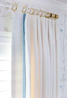 Lucite Curtain Rod (polished brass, satin brass or nickel) DIA - Acrylic Drapery Rod - Drapery Rod - Custom Curtain Rod - LuxHoldups Window Hardware, Bathroom Hardware, Window Casing, Thing 1, Drapery Rods, Curtain Rails, Custom Curtains, Boho Curtains, Brass Fittings
