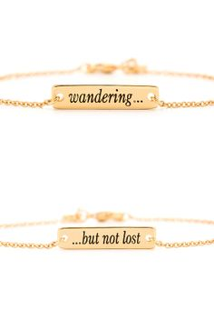 Wandering...but not lost