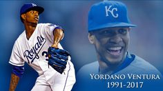 Royals pitcher Ventura dies in car crash in DR Key member of KC's rotation, World Series triumph in 2015 was 25 years old (1.22.17)