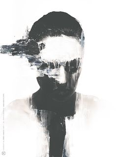 The Numbers: 60612 - 14 by Jarek Kubicki on Behance #illustration #digital #portrait
