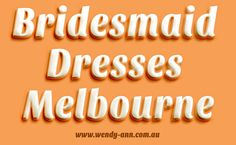 It is extremely essential that the selection of bridesmaid dress is not left as a pending job. Try this site http://wendy-ann.com.au for more information on Bridesmaid Dresses Adelaide. Deciding on a bridesmaid's dress is as important as deciding on the bride's dress. It is quite a misconception that the bridesmaids must be camouflaged in the background and the bride must be the sole focus of the evening. Therefore it is imperative that you choose the best Bridesmaid Dresses Adelaide.