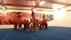 Join.MagnitudeCheer.com (818) 280-8044  The Red Team's Performance at our Team Parent Practice  Experience our first-rate tumbling classes, divided by ability to increase your child's physical development, with an emphasis on fitness and fun.  Gain confidence, increase mental and physical strength, teach respect for self and others, and instill integrity while developing well-rounded individuals.  Tumbling classes, cheer classes, All-Star teams, private lessons, birthday parties, an...