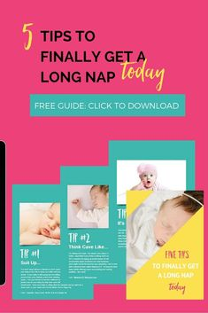 If you are frustrated since your baby only takes a short nap, this free guide is for you. I reveal 5 tips for your baby to finally take a long nap. Say goodbye to short naps and finally get a long nap today. Click here to download the guide instantly.