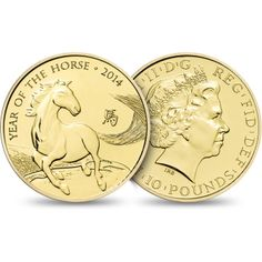 Lunar Year of the Horse 2014 UK Tenth-Ounce Gold Brilliant Uncirculated Coin £225.00