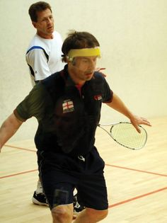 Squash Champion Richard Millman