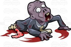 Gallery for - zombie crawling out of ground cartoon