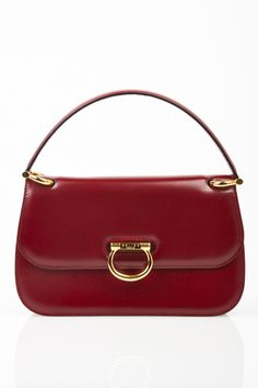 15 STUNNING Vintage Bags Worth Investing In #refinery29  http://www.refinery29.com/vintage-bags#slide8   Celine Red Leather Bag, $950, available at What Goes Around Comes Around.