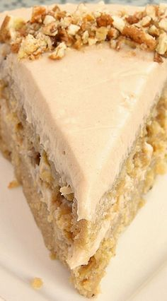 Apple Spice Cake with Cinnamon Cream Cheese Frosting ~ Incredibly moist and delicious