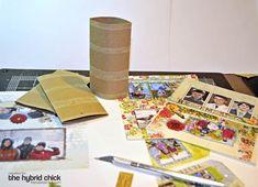 mini album from toilet paper rolls & constellation projector http://www.pinterest.com/pin/417920040391441551/