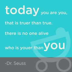Dr Suess is always right.