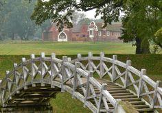 Brücke im Luisium, Gartenreich Dessau-Wörlitz