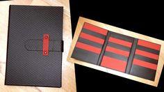 mes cartonnages / porte cartes marron