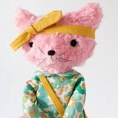 Pink furry kitten by CutieKatKat