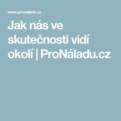 Jak nás ve skutečnosti vidí okolí | ProNáladu.cz