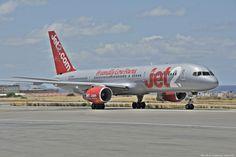 "Jet2 Boeing 757-200 - cn 24014 / ln 144 G-LSAG First Flight Aug 1987 Age 27.9 Years Test registration N1792B Heraklion International Airport, ""Nikos Kazantzakis"" (IATA: HER, ICAO: LGIR)"