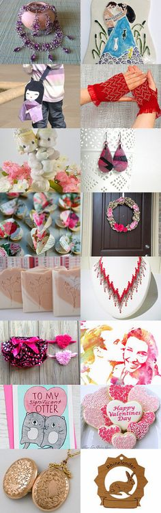 Valentine's Day Gifts by Veddma on Etsy--Pinned with TreasuryPin.com