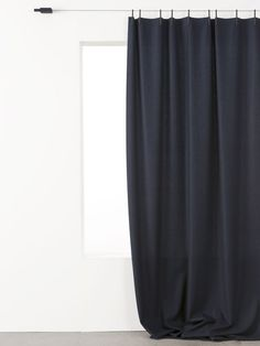 Have you seen these mimimalist curtains before? Could be good for master / office / den / by Bouroullec brothers for Kvadratb